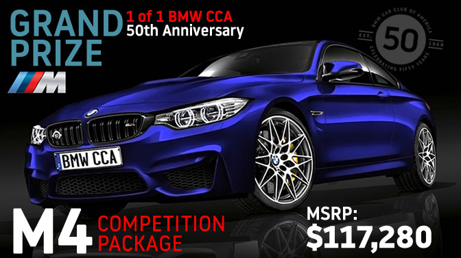 Raffle | BMW Car Club of America