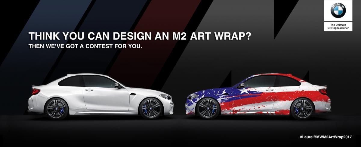 Bmw Performance Driving School >> M2 Art Wrap Design Competition—Win A 2-Day M School! | BMW Car Club of America