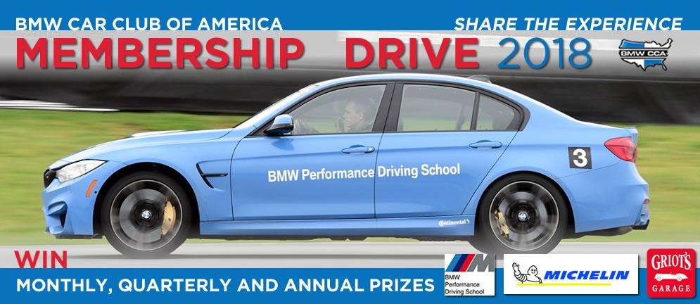 BMW CCA Membership Drive 2018