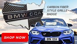 Carbon Fiber Style Grille Badge