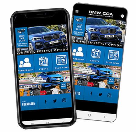 BMW CCA Events App
