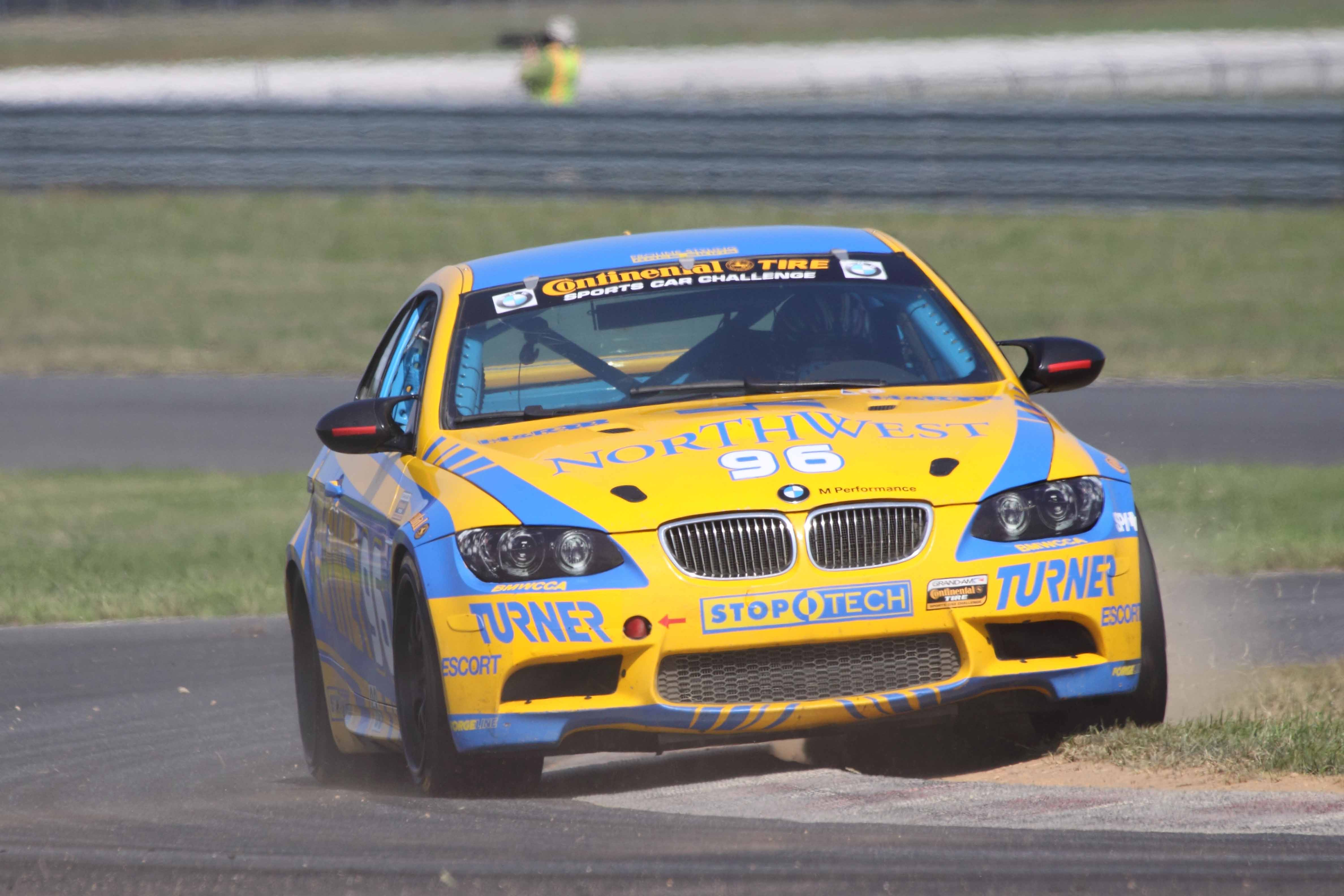 Paul Dalla Lana goes into the CTSCC finale with a strong lead in GS  drivers' points. (Brian Morgan photo)