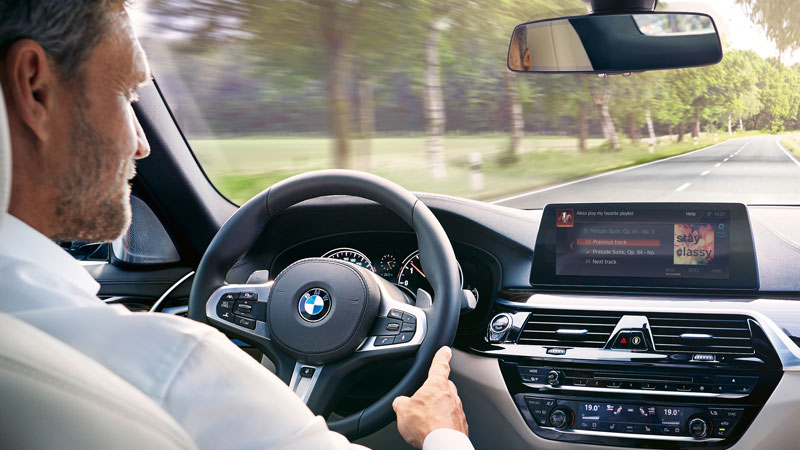Mid All BMWs And Minis Get Alexa BMW Car Club Of America - All bmws