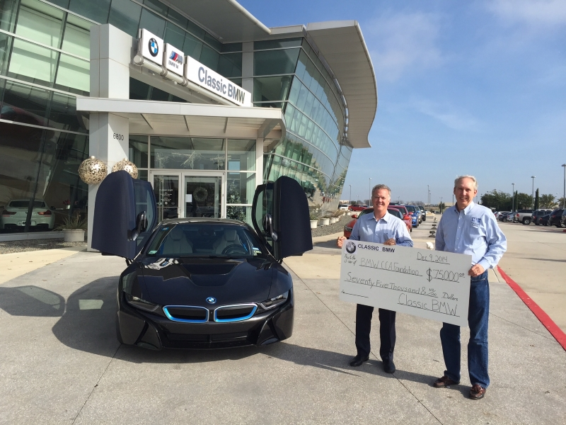 Classic BMW of Plano Donates $75,000 to BMW CCA Foundation! | BMW