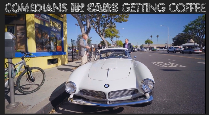 Jerry Seinfeld Drives A Bmw 507 In Latest Comedian In Cars Getting Coffee Bmw Car Club Of America