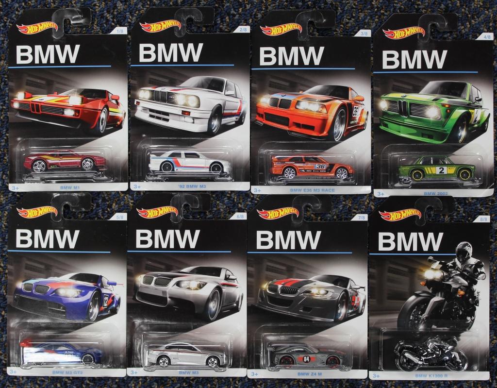 Hot Wheels 2015 /'92 BMW E36 M3 Race Orange BMW Series Anniversary 3//8