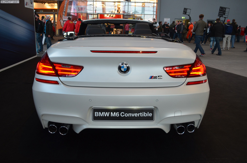 A Frozen Vision In White Bmw Displays M6 At The N 252 Rburgring Bmw Car Club Of America
