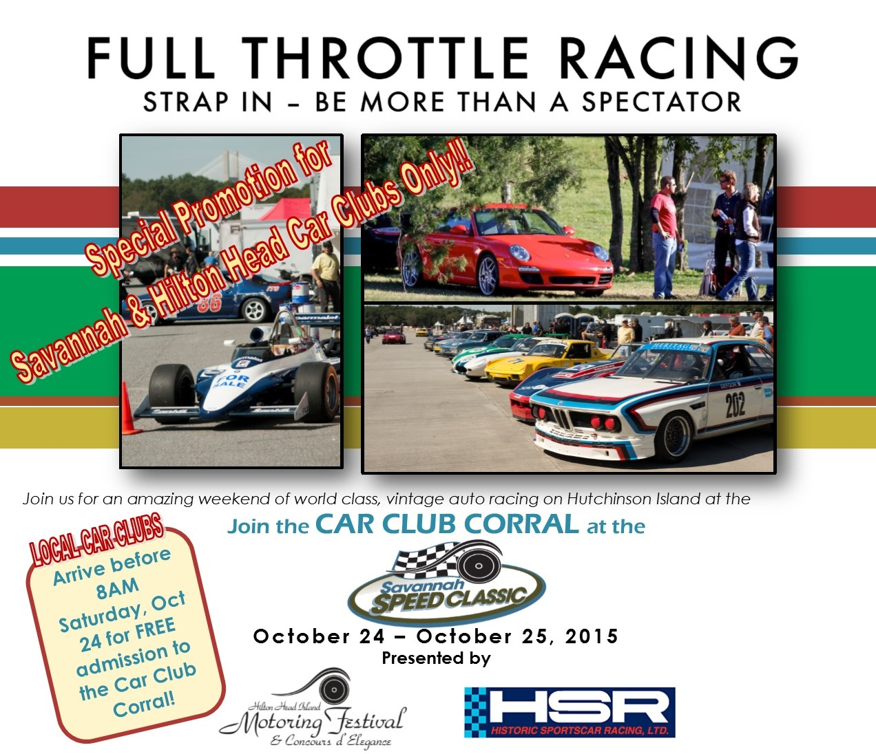 Savannah Speed Classic October 23–25 | BMW Car Club of America