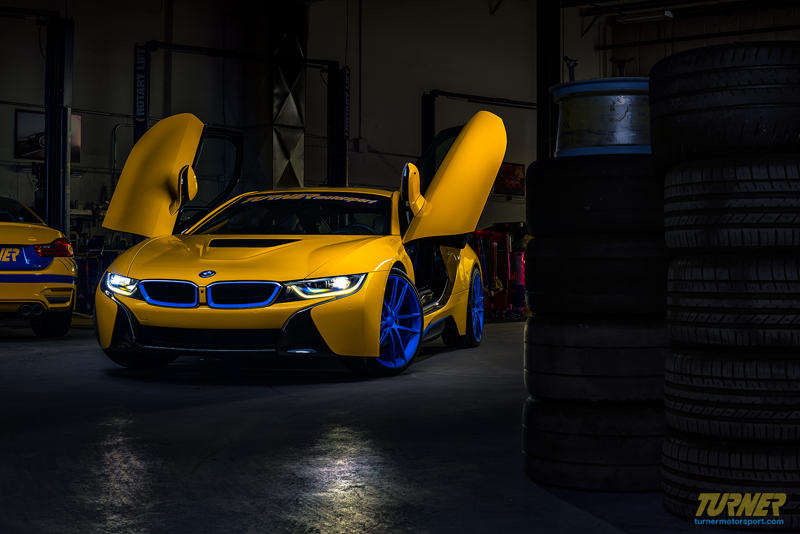Turner Motorsport Bmw I8 Up For Sale Bmw Car Club Of America