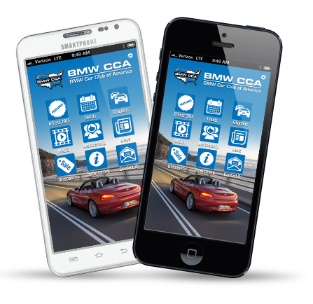 Smartphone In-App Advertising | BMW Car Club of America
