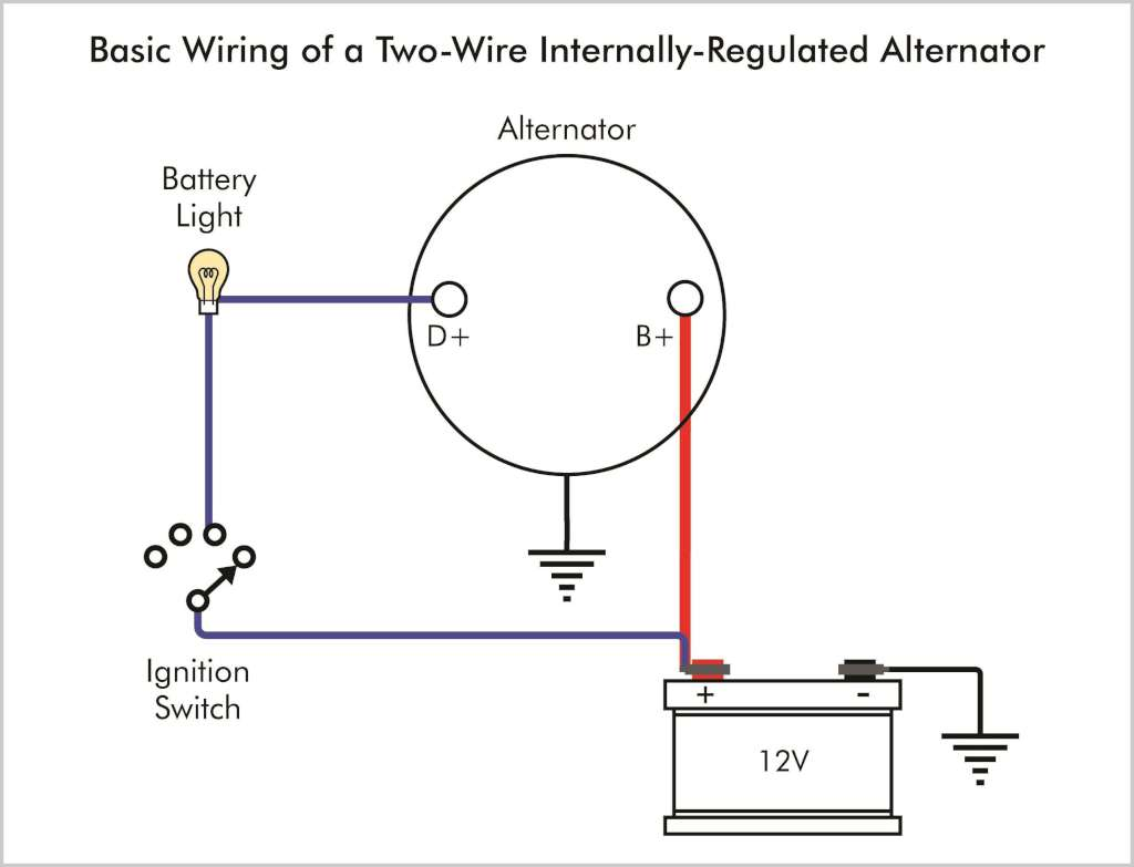 Alternator Warning Light Wiring Diagram For F150 Simple Rh 47 Mara Cujas De Gm 12v