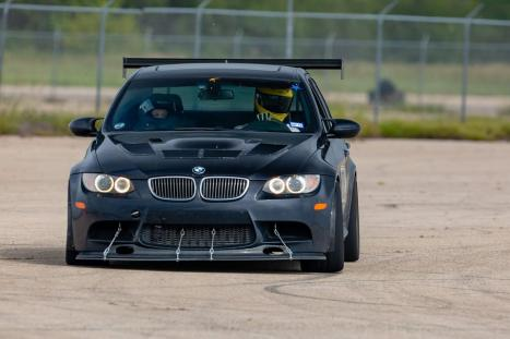Mark Butterfield's M3 on the AutoX track