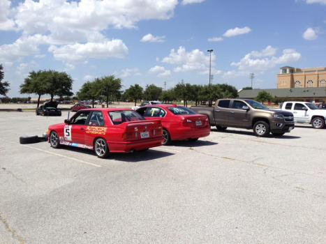 Cars at Rest at Lone Star Park