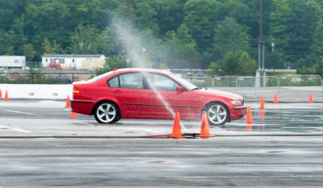 skid pad exercise