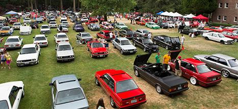 E30 Picnic at the LeMay Museum at Marymount