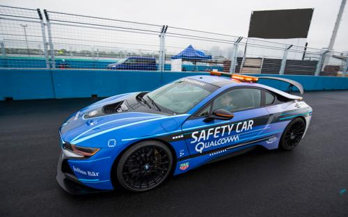 Bmw Premieres New I8 Safety Car Colors For Formula E
