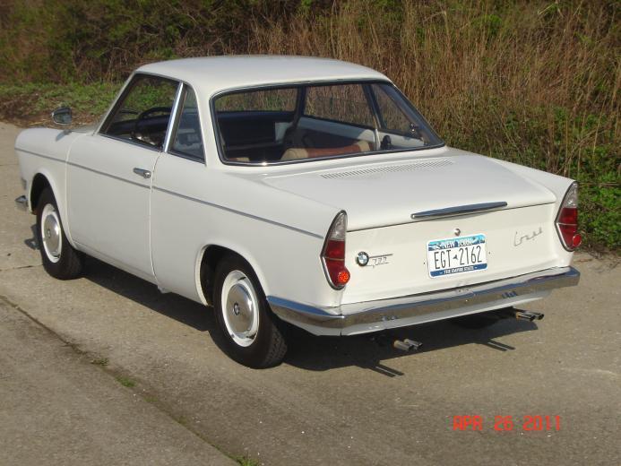 1960 Bmw 700 Bmw Car Club Of America