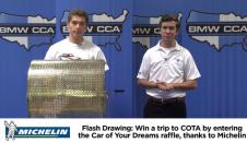 COYD Flash Drawing #1: Trip For Two To COTA, Courtesy Of Michelin
