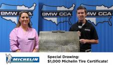 Raffle Update: New York Chapter Member Wins Michelin Tire Certificate