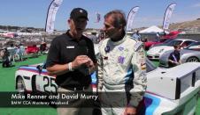 David Murry Talks Racing at Laguna Seca with Mike Renner