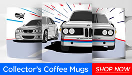 BMW CCA Collector's Coffee Mugs